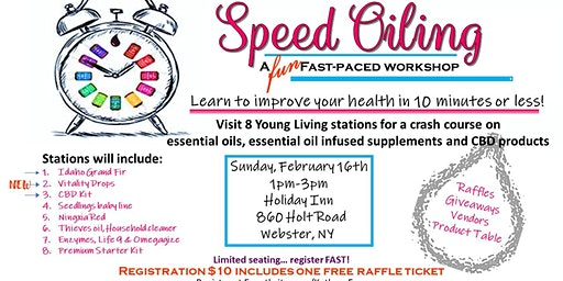 Young Living Speed Oiling