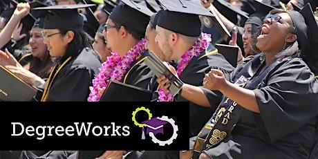 DegreeWorks Workshop (Online)for Chabot College Students (Spring 2020) tickets