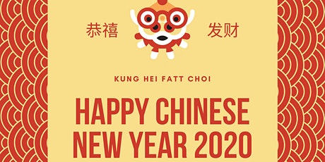 CHINESE NEW YEAR OF THE RAT  Champagne Reception & Dim Sum Lunch tickets