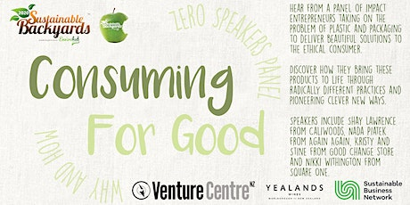 Consuming for Good- Why & How tickets