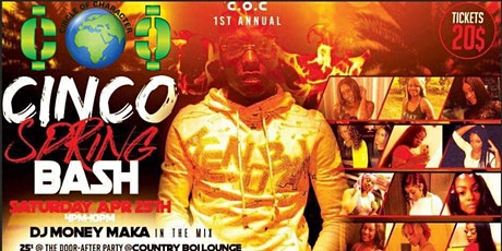 COC Spring Bash 2020 feat. TLE CINCO tickets