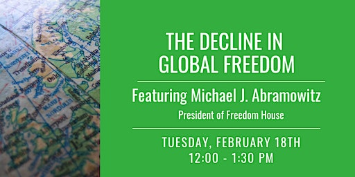 The Decline in Global Freedom