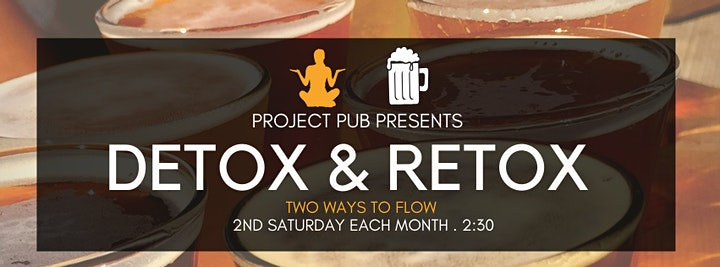 Detox & Retox:  A yoga and beer experience image