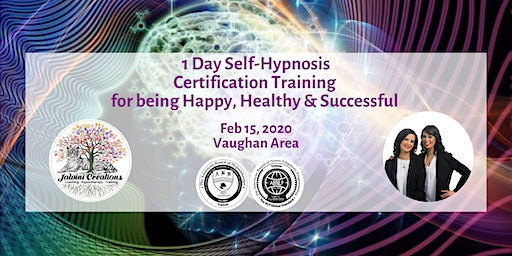 1 Day Self-Hypnosis Workshop  for being  Happy, Healthy & Successful
