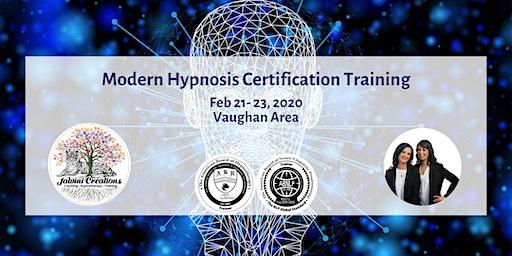 Modern Hypnosis Certification Training