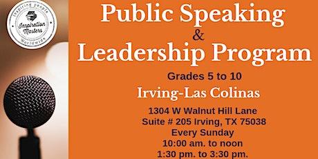 Public Speaking Program In Irving tickets