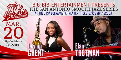 San Antonio Smooth Jazz Series: Saxophonists Jazmin Ghent & Elan Trotman! tickets
