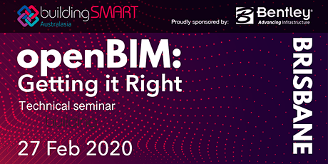 openBIM: Getting it Right Technical seminar (Brisbane) tickets