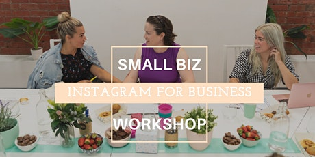 Small Business Workshop: Instagram for business, March tickets