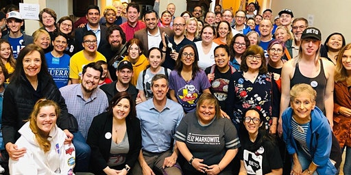 Canvass with Beto O'Rourke for Eliz Markowitz