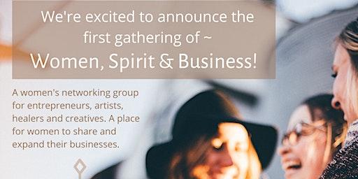 Women, Spirit, & Business, Networking Circle