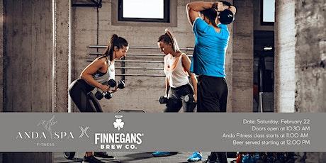 Anda Fitness at FINNEGANS Brew Co. tickets