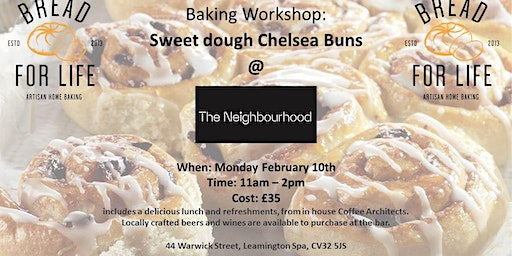 Sweet dough Chelsea Bun workshop