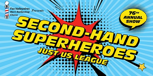 Second-Hand Superheroes: The Just-Us League