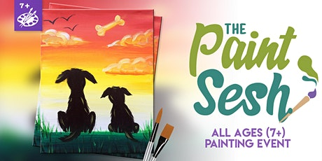 "All Ages Painting Event in Riverside, CA - ""Dogs Day Out"" tickets"