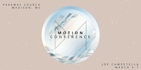 MOTION CONFERENCE 2020 tickets