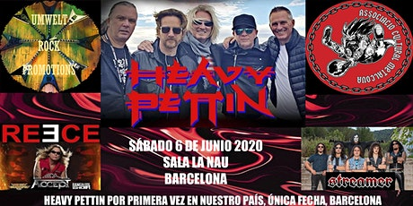Heavy Pettin + David Reece + Streamer entradas