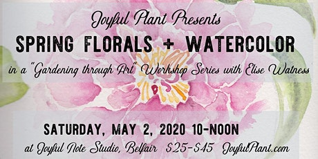 Spring Florals + Watercolor tickets