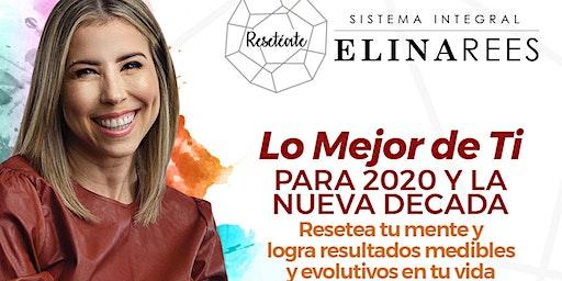 """Charla : """" Lo mejor de ti para 2020 y la nueva decada"""" por donativo"""