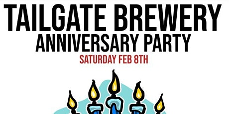 TailGate Brewery 5 Year Anniversary Party tickets