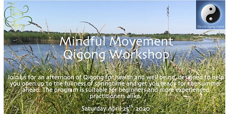 Mindful Movement Qigong Workshop tickets