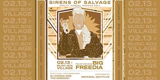 Sirens of Salvage Mardi Gras Ball featuring Big Freedia