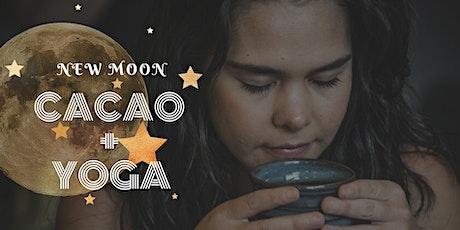 Sacred Cacao + Yoga Flow tickets