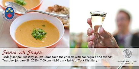 Soppa och Snaps (Soup and Aquavit) Networking tickets