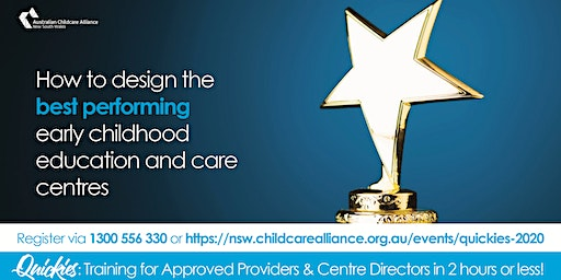 Quickies: How to design the best performing ECEC centres