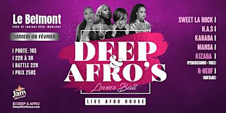 Deep&Afro + Tap Water Jam tickets