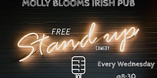 Weekly Wednesday Free Comedy at Blooms Irish Pub in San Clemente