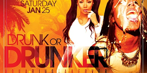 """FREE TICKETS to """"DRUNK OR DRUNKER"""" THIS SATURDAY @ CLUB 47 (JAN 25)"""