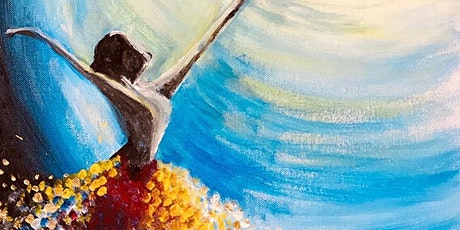 Paint Night in Canberra: Dancer tickets