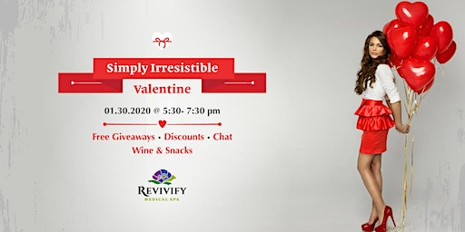 Simply Irresistable Valentine Free Event