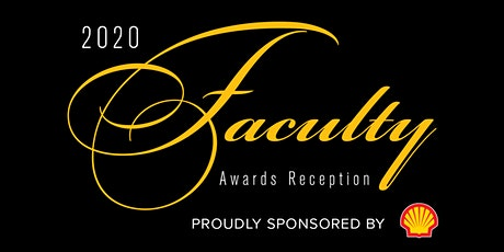 2020 Faculty Awards Invitation RSVP - Years of Service Recognition tickets