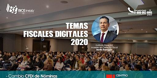 Temas Fiscales Digitales 2020