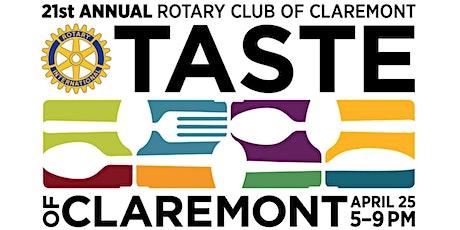 Taste of Claremont 2020 tickets