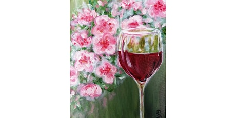 "3/7 - Corks and Canvas Event @ Revolve Food & Wine, Bothell Mimosa Morning ""Blossoms & Wine"" tickets"