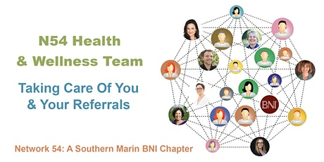 N54 Health and Wellness Team: Taking Care of You and Your Referrals tickets