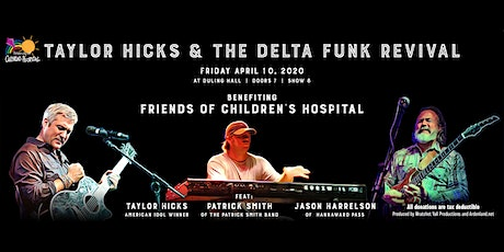 Taylor Hicks and the Delta Funk Revival tickets