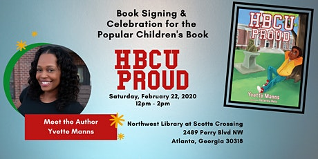 HBCU Proud Book Signing - Meet the Author tickets