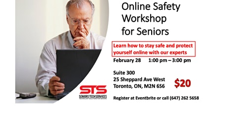 Online Safety For Seniors tickets