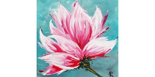 """3/7 - Corks and Canvas Event @ Nectar at Kendall Yards, SPOKANE Mimosa Morning """"Pink Tulip Magnolia"""""""