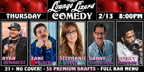 Lounge Lizard Comedy! (Valentines Day Event) tickets