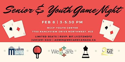Senior & Youth Game Night