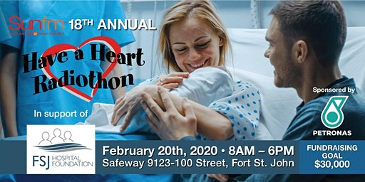 """18th Annual """"Have a Heart"""" Radiothon"""