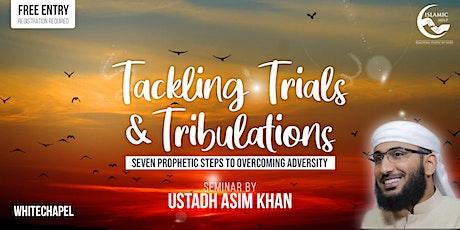 Tackling Trials & Tribulations - Whitechapel tickets