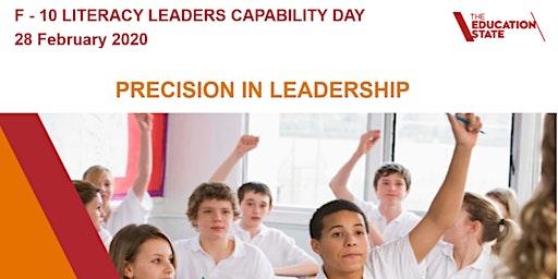 Literacy Leaders Capability Day - Inner East Area - Term 1 2020