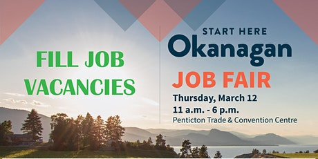 Start Here Okanagan Job Fair - Exhibitor Registration tickets