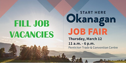 Start Here Okanagan Job Fair - Exhibitor Registration